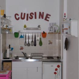 kitchenette fonctionnelle et bien équipée - Location de vacances - Paimpol