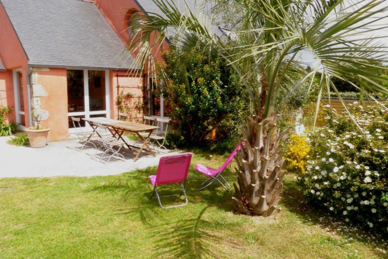 Terrasse plein sud - Location de vacances - Pleumeur-Bodou