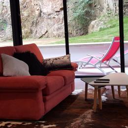 L'espace salon - Location de vacances - Perros-Guirec