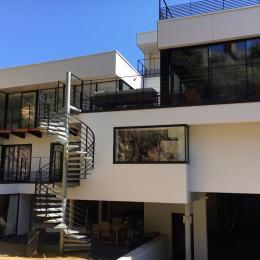 l'Archipel, appartement Duplex, 6 personnes, séjour-salon-cuisine - Location de vacances - Perros-Guirec