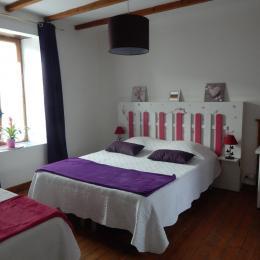 Chambre Un air Floral pour 3 personnes - Chambre d'hôtes - Saint-Denoual