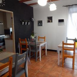 Salle à manger / salle de petits déjeunés - Chambre d'hôtes - Saint-Denoual