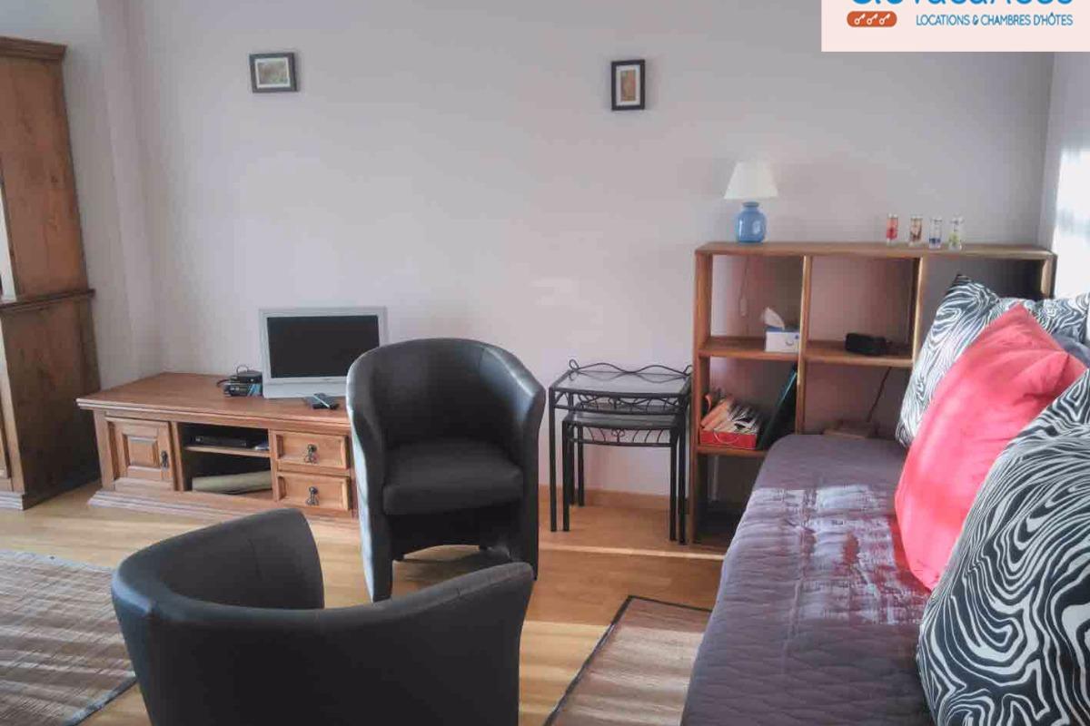 Appartement, Trébeurden, espace séjour - Location de vacances - Trébeurden