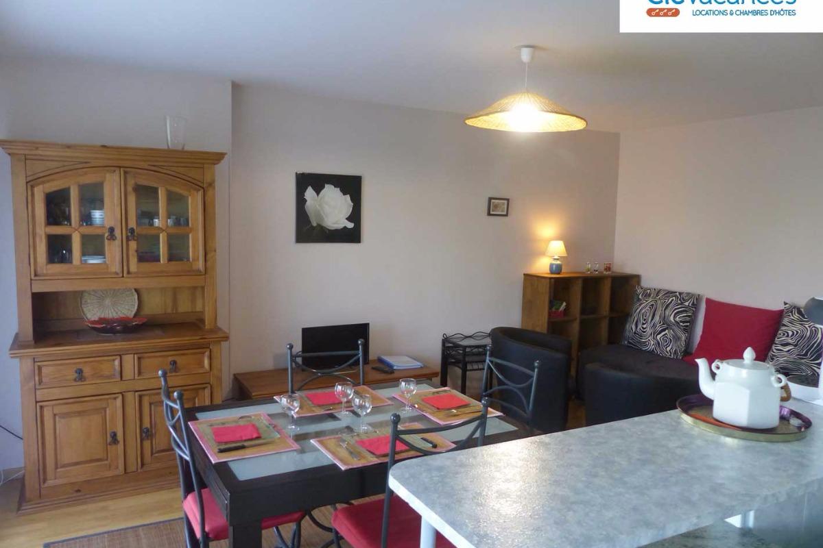 Appartement, Trébeurden, Salle à manger-Séjour - Location de vacances - Trébeurden