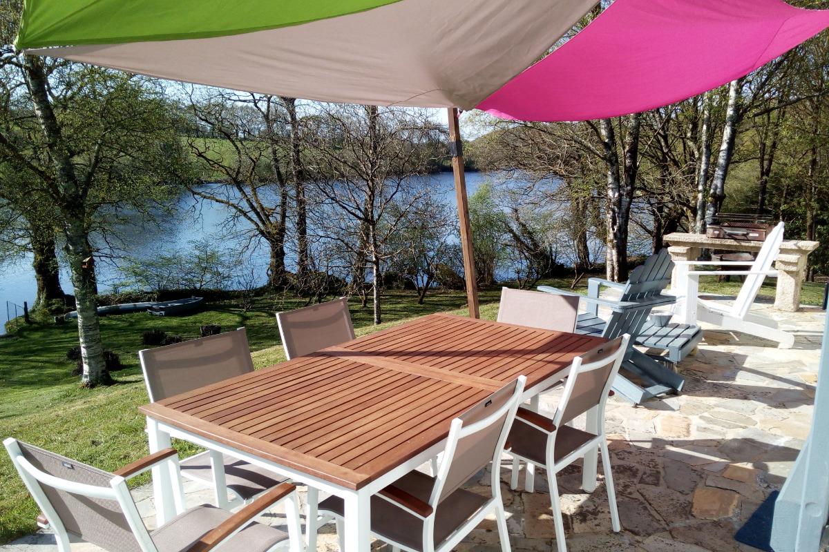 La Terrasse - Location de vacances - Glomel
