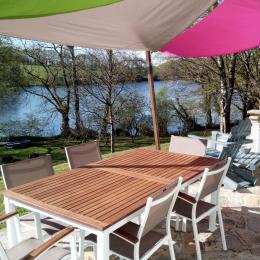 Terrasse - Location de vacances - Glomel