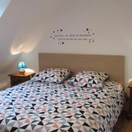 Location Paimpol, une chambre à l'étage avec lit simple - Location de vacances - Paimpol