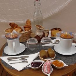 petit-déjeuner - Chambre d'hôte - Plouézec
