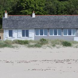 maison vue de la plage - Location de vacances - Saint-Michel-en-Grève