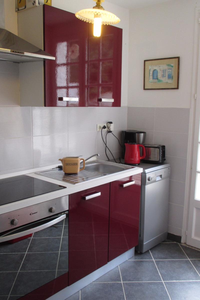 cuisine équipée - Location de vacances - Trédrez-Locquémeau
