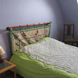 deuxième chambre lit 140 - Location de vacances - Trédrez-Locquémeau