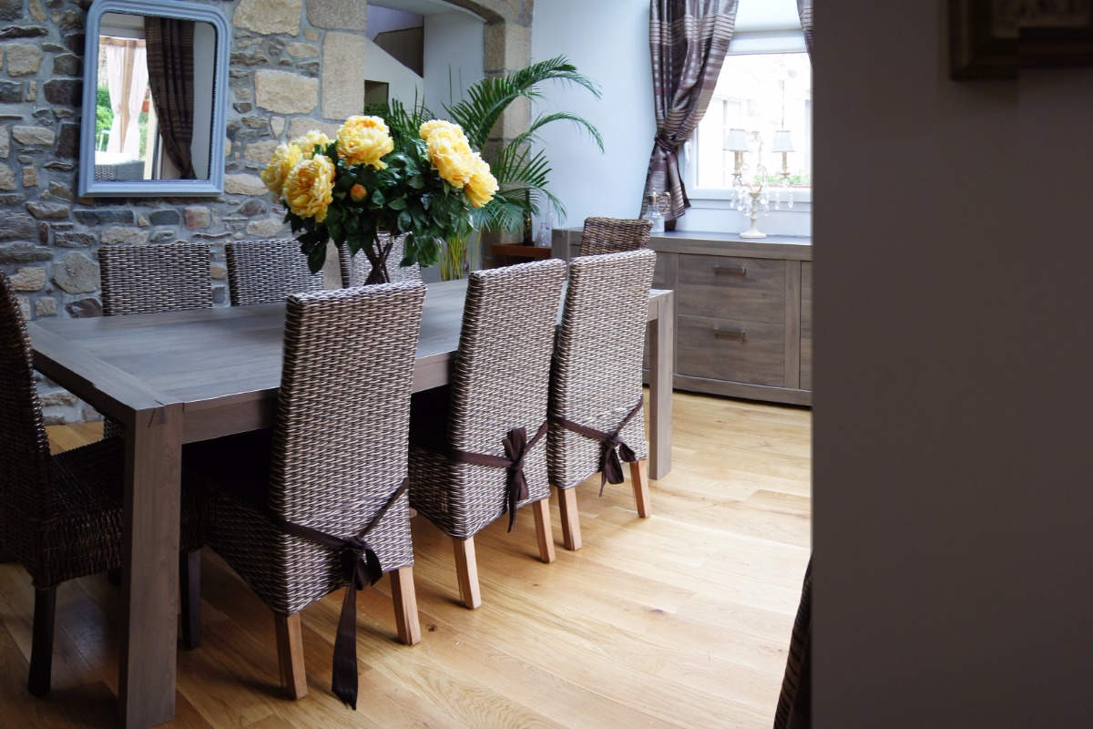 salle de bains chambre baroque - Chambre d'hôtes - Broons