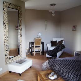 salle de bains chambre zen - Chambre d'hôtes - Broons
