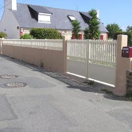 Vue de la rue Karrent Roz - Location de vacances - Perros-Guirec