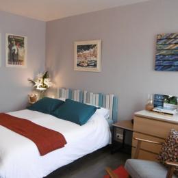 Le studio avec lit de 160 (2x80 jumelés) - Location de vacances - Paimpol