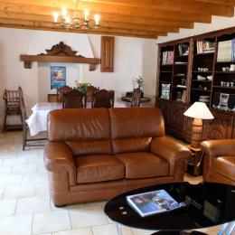 La pièce de vie de 35 m² - Location de vacances - Paimpol