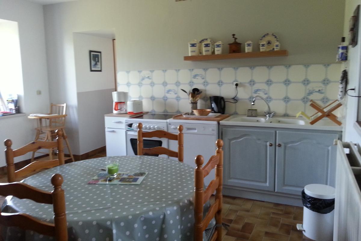 cuisine - Location de vacances - Trégastel