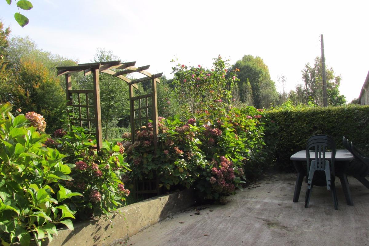 Terrasse et accès jardin - Location de vacances - Pluduno