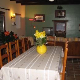 Salle à Manger -  Gîte Agapanthe - Location de vacances - Paimpol