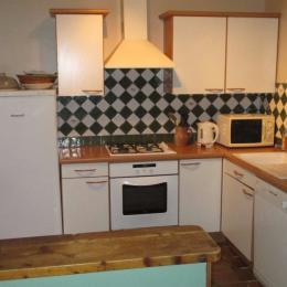 Ferme de Kerloury, Agapanthe, espace cuisine - Location de vacances - Paimpol