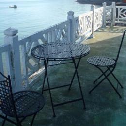 La vue mer depuis le balcon du gîte du haut - Location de vacances - Plouézec