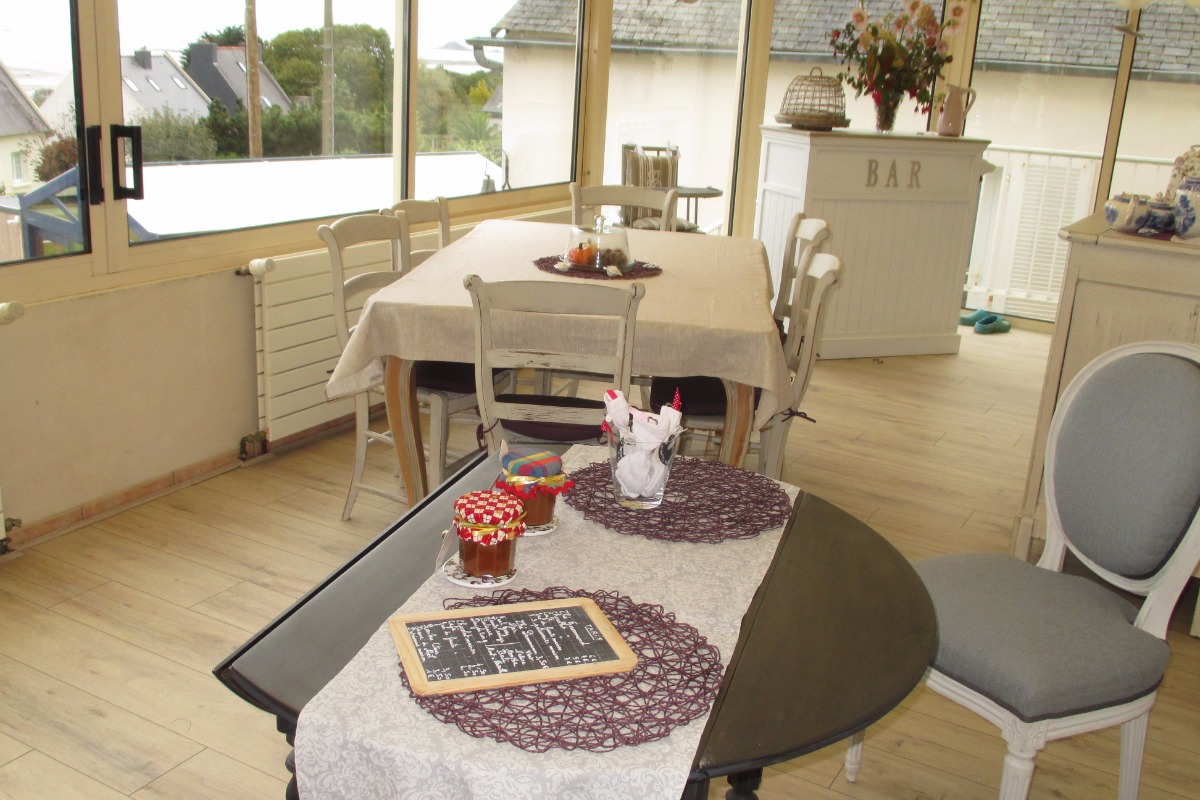 Espace petit déjeuner - Chambre d'hôtes - Paimpol