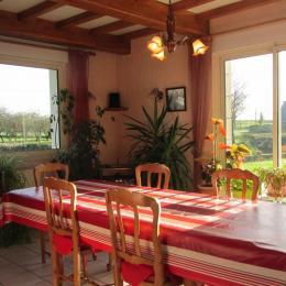 Salon-séjour - Chambre d'hôtes - Lamballe