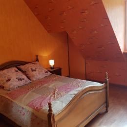 Suite Familiale : chambre orange - Chambre d'hôtes - Lamballe