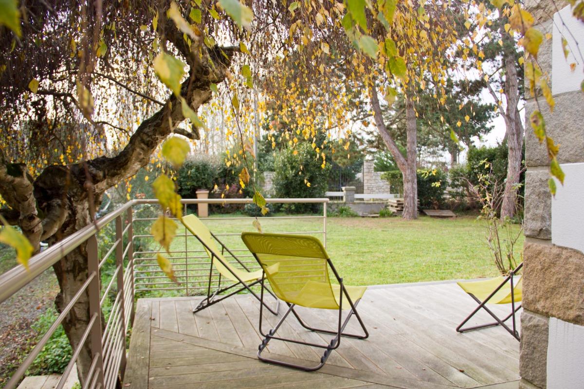 Passez du bon temps sur la terrasse - Location de vacances - Lancieux