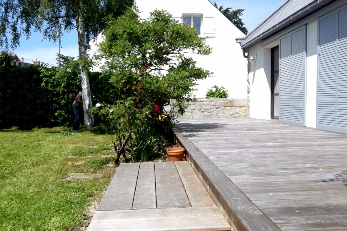 La maison pour 4 6 personnes lancieux proximit de for Jardin 700m2