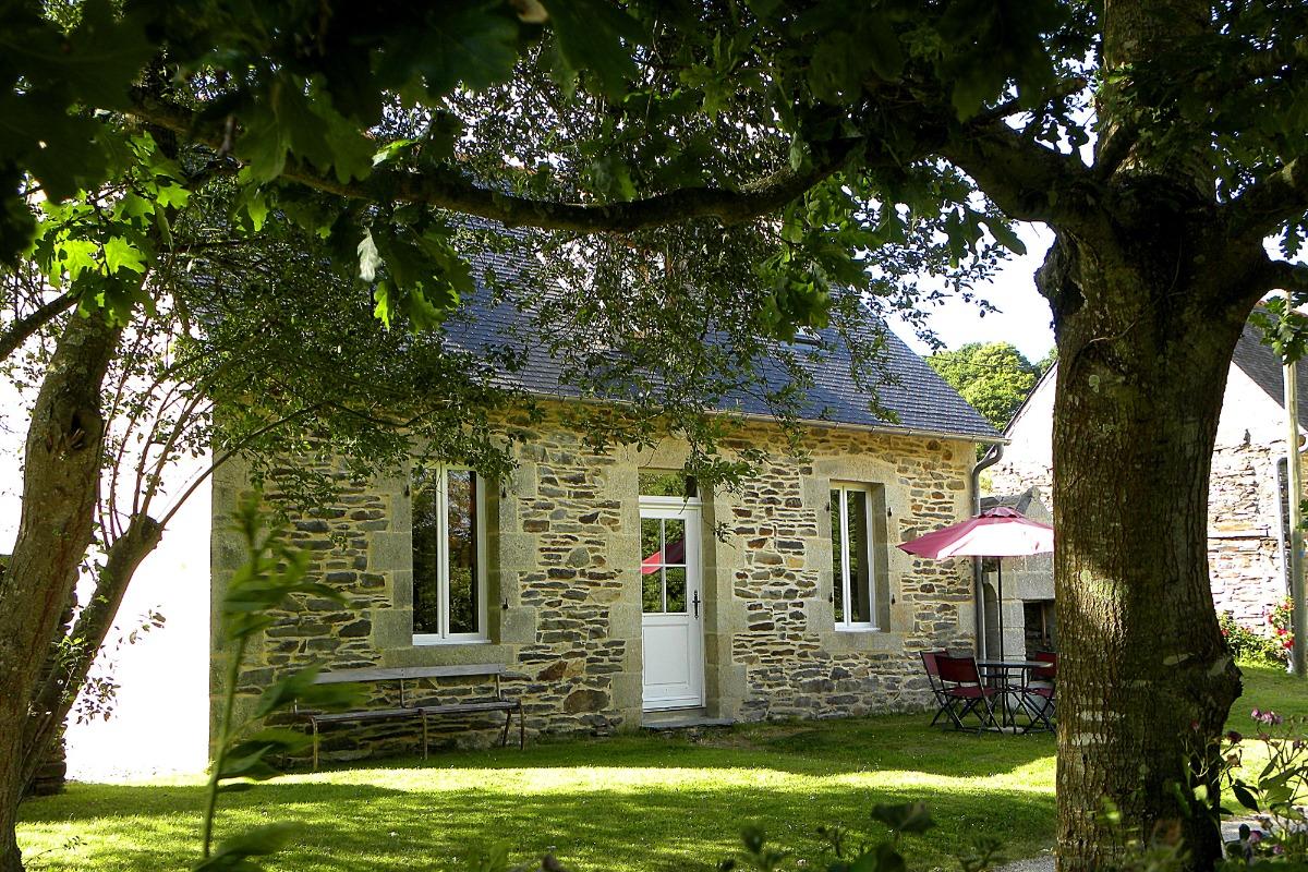 La maison, vue extérieure - Location de vacances - Plestin-les-Grèves