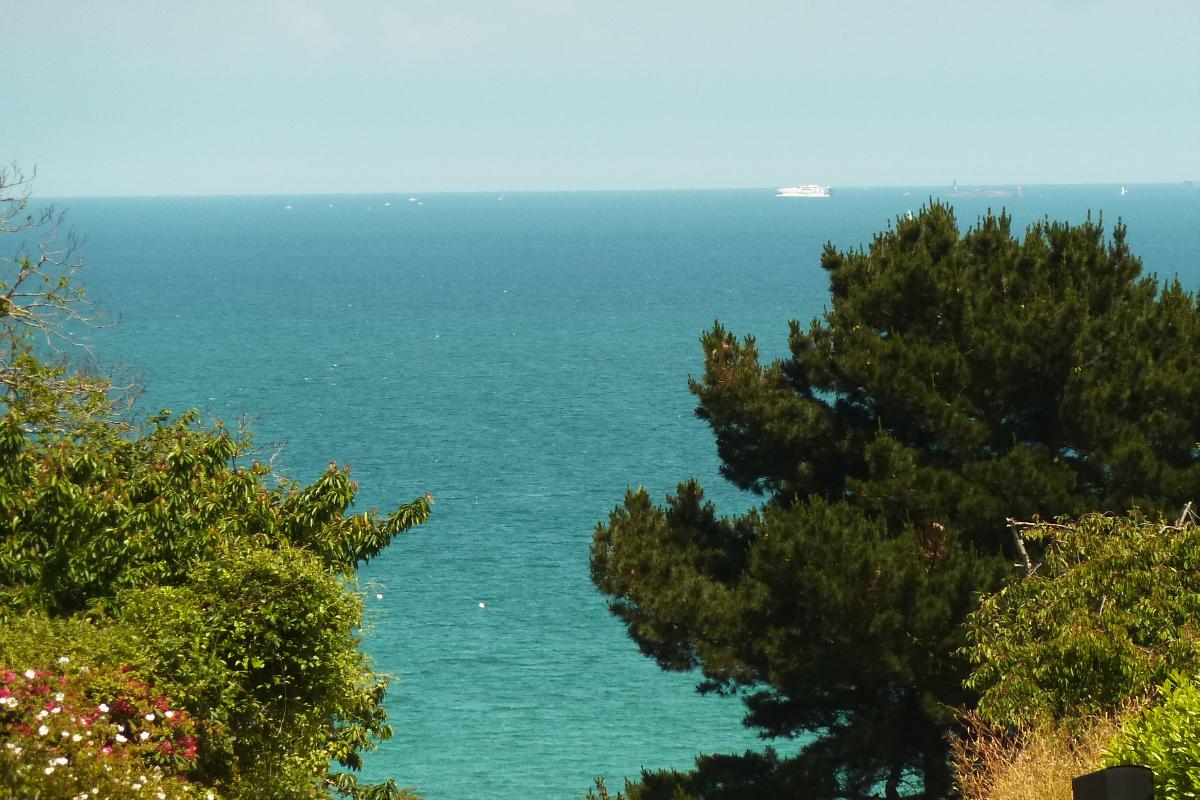 Vue mer de la maison - Location de vacances - Saint-Cast-le-Guildo