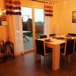 Terrasse Est le matin - Location de vacances - Saint-Cast-le-Guildo