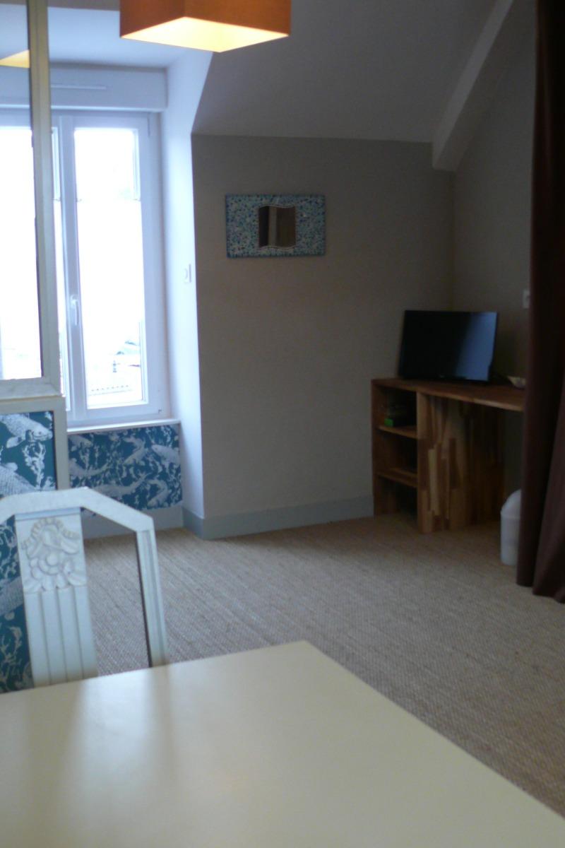 Salon-séjour - Location de vacances - Erquy