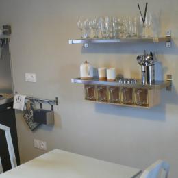 Coin cuisine - Location de vacances - Erquy