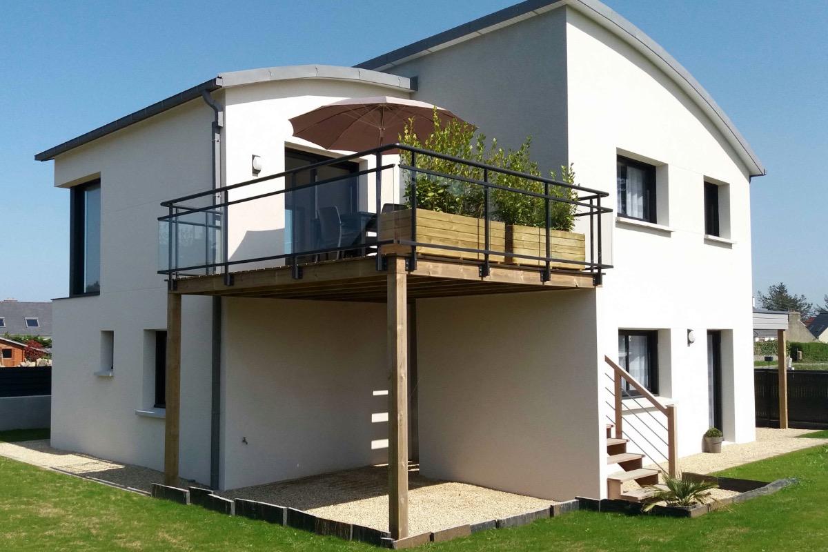 L'herbe pousse .... - Location de vacances - Pleumeur-Bodou