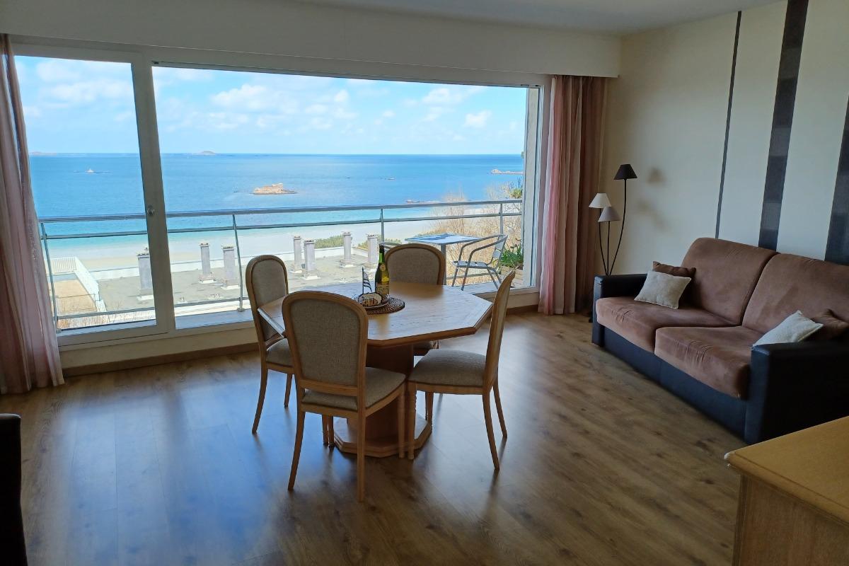 salon - séjour - Location de vacances - Perros-Guirec