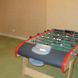 Location Kerbors, salle de jeux à l'étage - Location de vacances - Kerbors