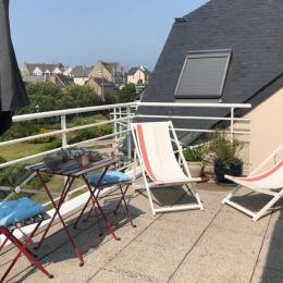 Terrasse plein suf - Location de vacances - Pléneuf-Val-André