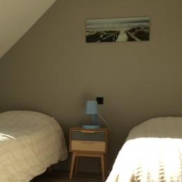 Chambre etage - Location de vacances - Pleubian