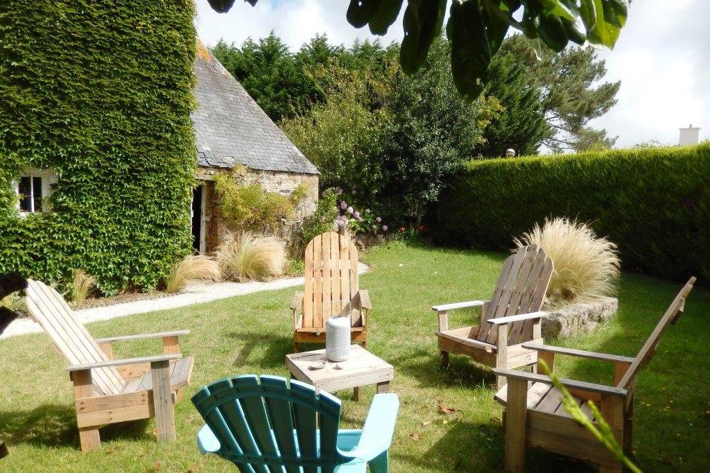 le jardin - Location de vacances - Pleumeur-Bodou