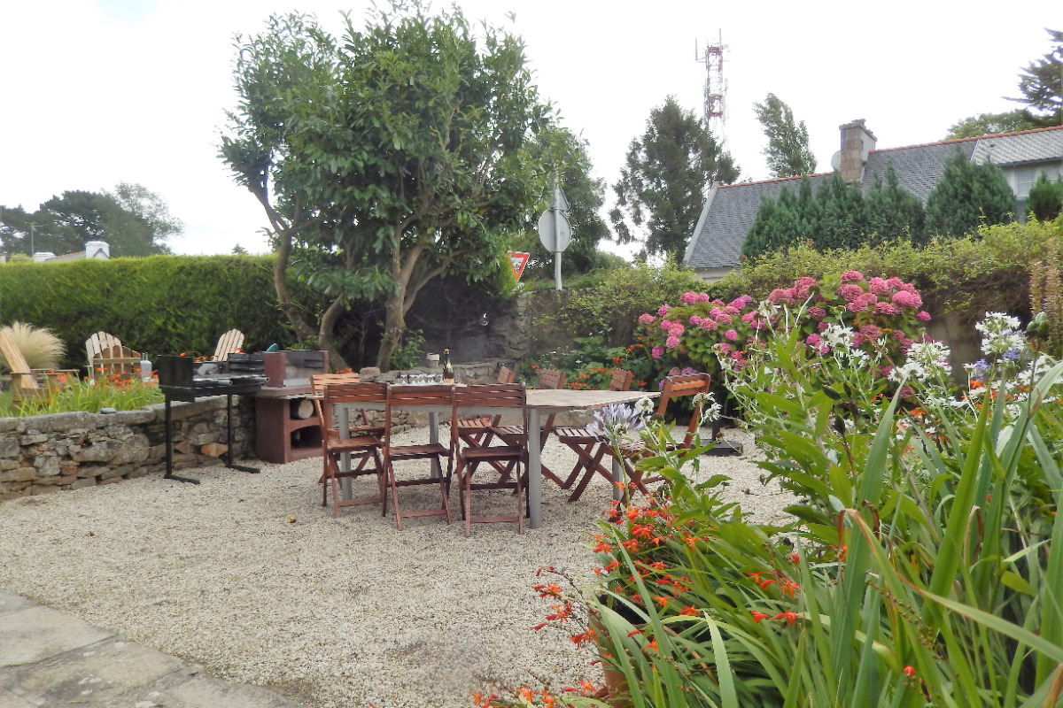 La cour - Location de vacances - Pleumeur-Bodou