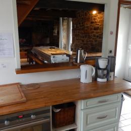 la cuisine  - Location de vacances - Pleumeur-Bodou