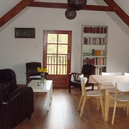 DUCLUT, location Pludual, espace séjour-salon - Location de vacances - Pludual