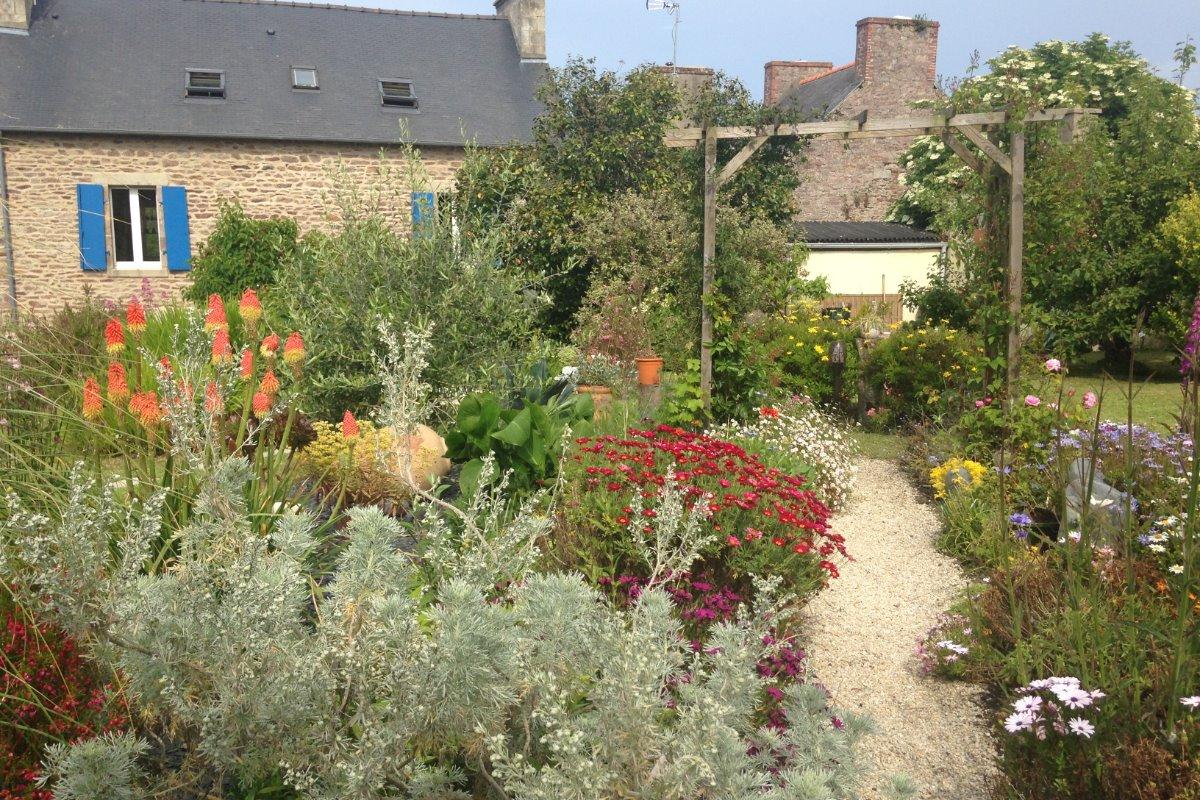 jardin - Chambre d'hôtes - Paimpol