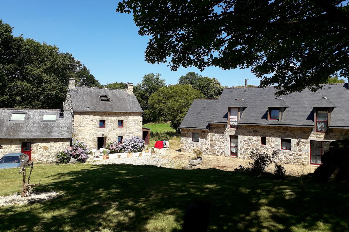 VUE D'ENSEMBLE DU SITE  - Location de vacances - Saint-Gilles-Pligeaux