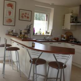 L'espace cuisine - Location de vacances - Saint-Gilles-Pligeaux