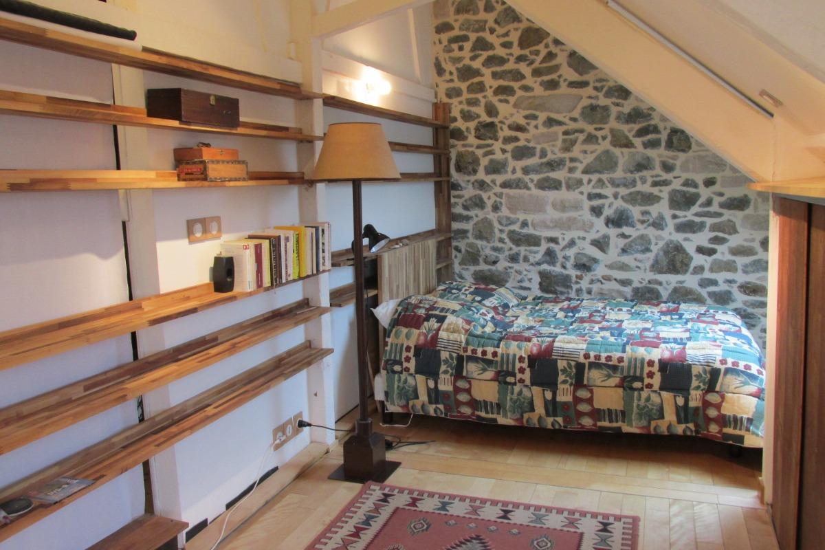 Le séjour/coin repas - Location de vacances - Pléneuf-Val-André