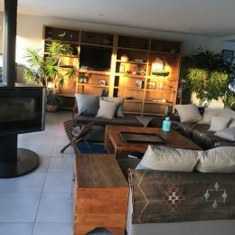 Le salon - Location de vacances - Louannec