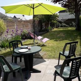 Location Paimpol, Atkins, Terrasse et jardin  - Location de vacances - Paimpol